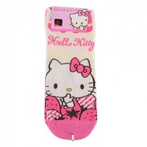 HELLO KITTY 韩国时尚短袜-1 1双 24cm