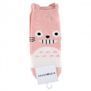 KISS SOCKS 韩国龙猫短袜 粉色 1双 24cm