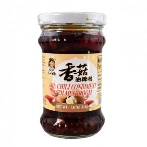 老干妈 香菇油辣椒 210g