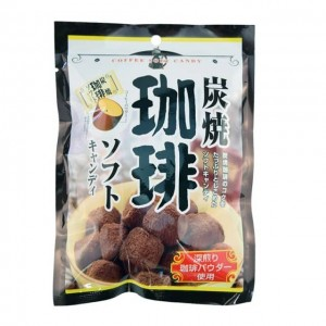 日本 炭烧咖啡糖90g