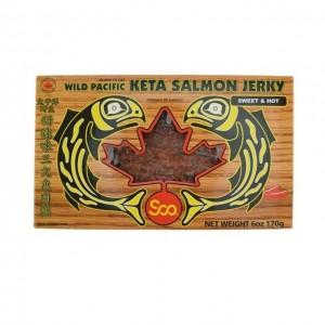 狮牌 太平洋 野生 甜辣味 三文鱼 肉干 170g