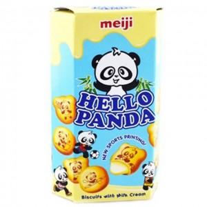 明治 牛奶味熊猫夹心饼干 57.5g