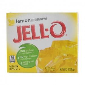 JELL-O 果冻粉 柠檬味 85g