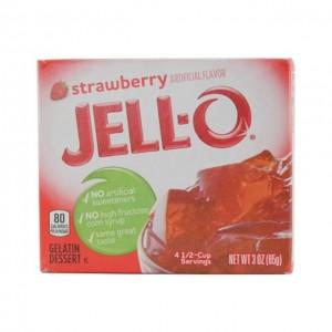 JELL-O 果冻粉 草莓味 85g