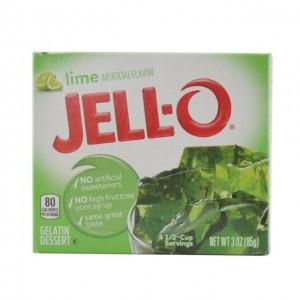 JELL-O 果冻粉 青柠味 85g