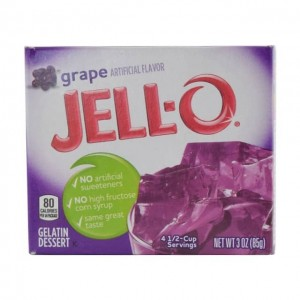 JELL-O 果冻粉 葡萄味 85g