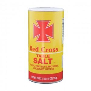 Red Cross 红十字 不含碘食用盐 737g