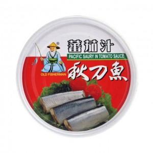 同荣 番茄汁秋刀鱼罐头 230g