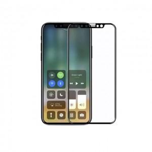 iphone X 手机全覆盖玻璃贴膜 黑膜
