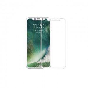 iphone X 手机全覆盖玻璃贴膜 白色