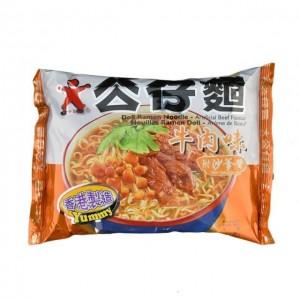 公仔面 牛肉味(附沙爹酱) 103g