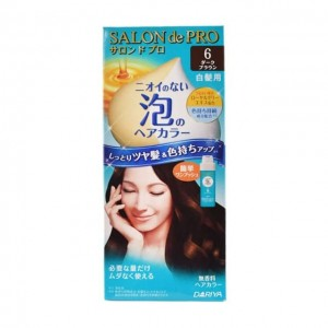 DARIYA SALON DE PRO(白发用)泡沫染发膏 6号黑棕