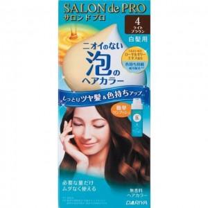 DARIYA SALON DE PRO(白发用)泡沫染发膏 4号咖啡棕