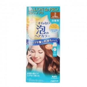 DARIYA SALON DE PRO (白发用)泡沫染发膏 2号浅棕