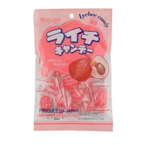 春日井Kasugai 荔枝味硬糖 115g