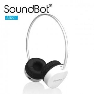 SoundBot SB271 蓝牙4.1无线耳机 白色