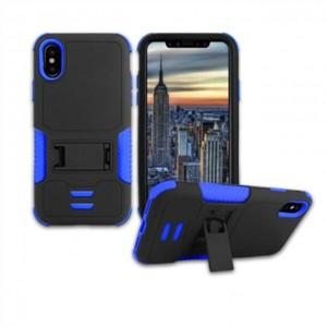 IPhone X 手机支架壳  蓝色