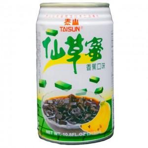 泰山 仙草蜜 香蕉口味 319mL