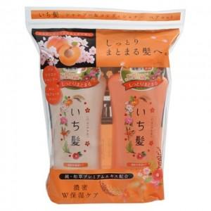 肌美精KRACIE ICHIKAMI 保湿系列 洗发露+护发素 36.6OZ