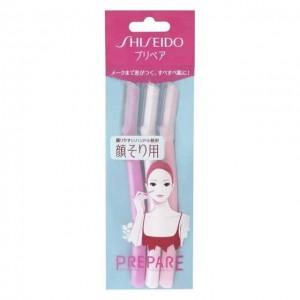 资生堂SHISEIDO Prepare女士专业脸部刮毛刀 3把入