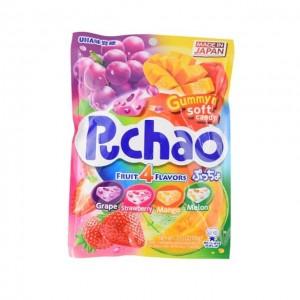UHA 味觉糖 Puchao果汁软糖 4种口味 100g