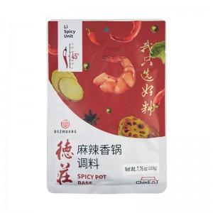 德庄 麻辣香锅调料 45°辣 220g