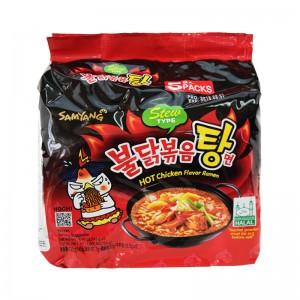三养火鸡面 超辣鸡肉味汤面 5包入