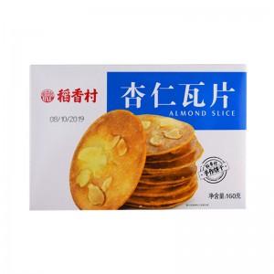 稻香村 杏仁瓦片 160g