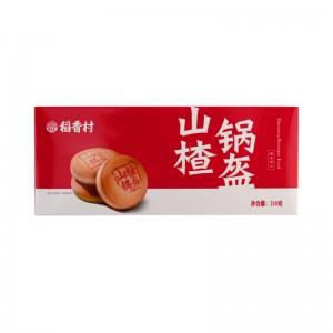 稻香村 山楂锅盔 210g
