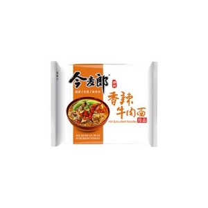 今麦郎 香辣牛肉面 单包 117g