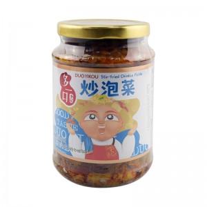 李记 多一口 炒泡菜 335g